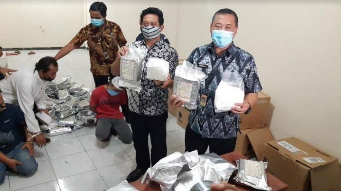 Ruko Puri Regency Gunung Anyar Surabaya Jadi Gudang Sabu asal Malaysia, 3 Orang Diamankan BNNP Jatim