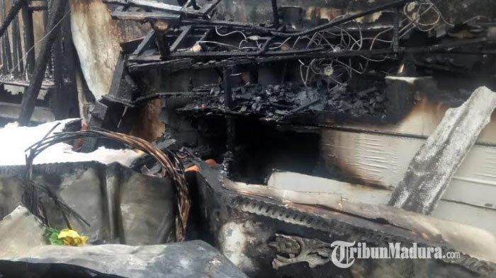 Rumah Warga di Pamekasan Terbakar, Peralatan Dekorasi Pernikahan Hangus, Kerugian Capai Rp 100 Juta
