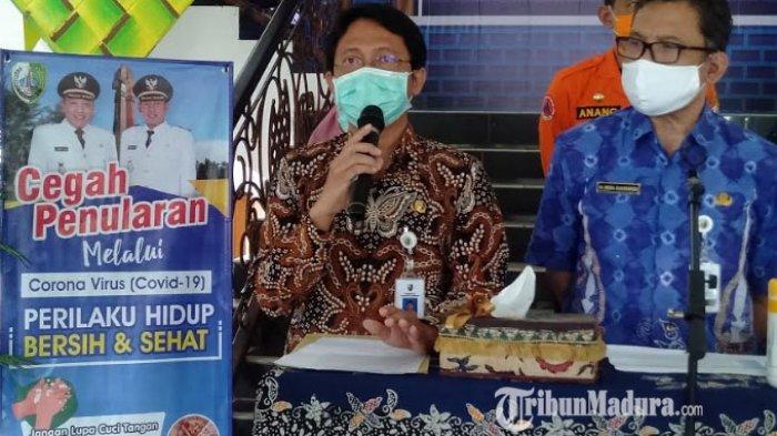 60 Persen Pasien Covid-19 di Sampang dari Klaster Pasar, Pedagang & Pengunjung Diajak Gunakan Masker