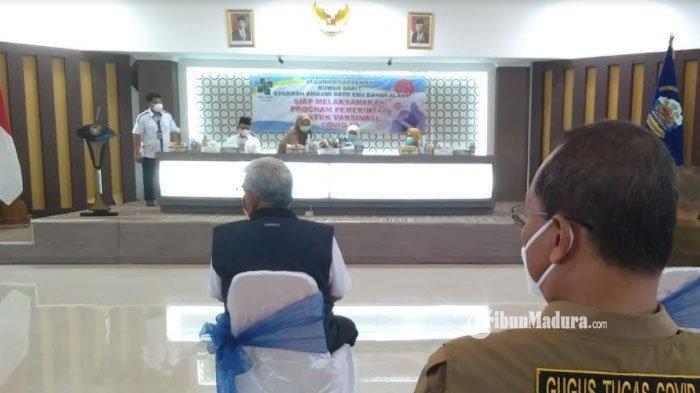 Jumlah Vaksinator Covid-19 di Bangkalan Minim, Kepala Dinkes Minta Tambahan Petugas ke Gubernur