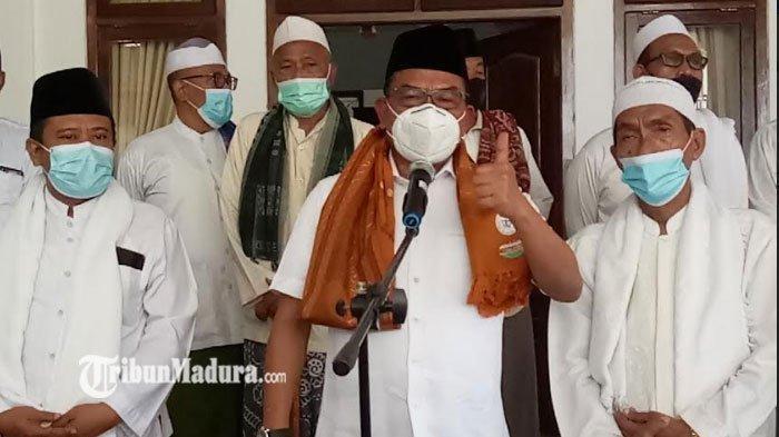 Kepala Staf Kepresidenan Moeldoko Kunjungi Ponpes di Sampang, Apreasiasi Upaya Pencegahan Covid-19
