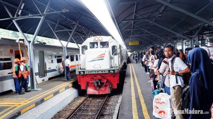Tujuh Kereta Api Tujuan Surabaya-Jakarta dan Sebaliknya Ditiadakan Sementara, Simak Rute yang Dibuka