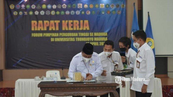 43 Rektor se-Madura Rapatkan Barisan di Kampus UTM, Siap Kolaborasi Pengembangan Potensi Pulau Garam