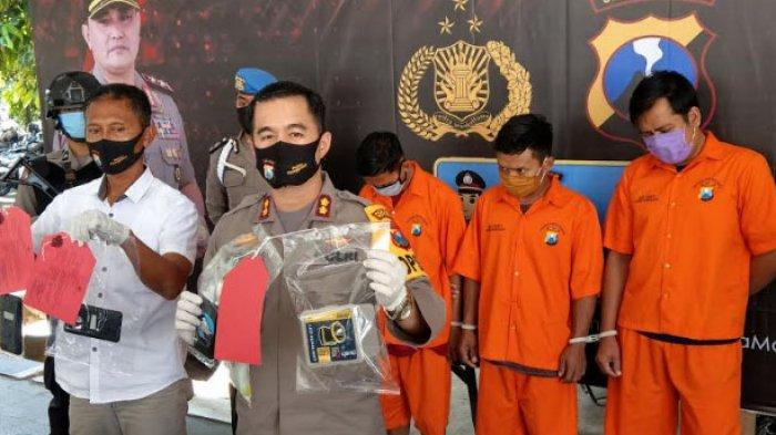 Tiga Sekawan Edarkan Pil Dobel L di Trenggalek, Baru Terungkap Setelah Polisi Geledah Tas Pelanggan