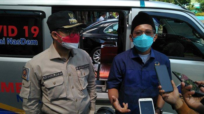 Partai NasDem Bangkalan Sumbang Satu Unit Mobil Ambulans Gratis Khusus Pasien dan Jenazah Covid-19