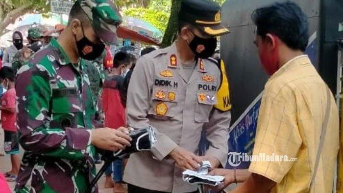 Tiga Kecamatan di Bangkalan Tinggalkan Zona Merah Covid-19, Operasi Prokes Makin Agresif Digelar
