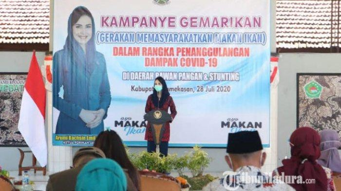 Forikan Jatim dan Kabupaten Pamekasan Kampanye Gemarikan, Berharap Kurangi Angka Penderita Stunting