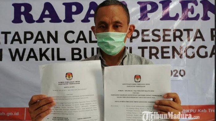Pilkada Trenggalek di Tengah Pandemi, KPU Target Angka Kehadiran Pemilih saat Coblosan 70 Persen