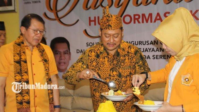 Anggota DPR RI Gatot Sudjito Meninggal, MKGR Jawa Timur Turut Berduka Cita