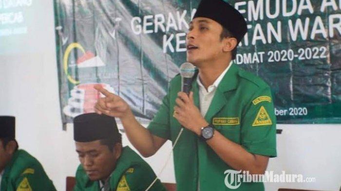 Ketua Ansor Pamekasan Ajak Pemuda NU Gelorakan Resolusi Jihad Kiai Hasyim Asy'ari, Begini Pesannya