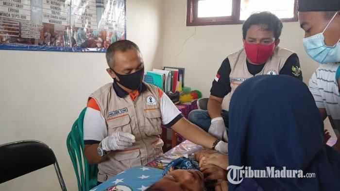 PSBB Khitan 42 Anak Pademawu Timur Pamekasan Gratis, Ringankan Beban Ekonomi Masyarakat saat Pandemi