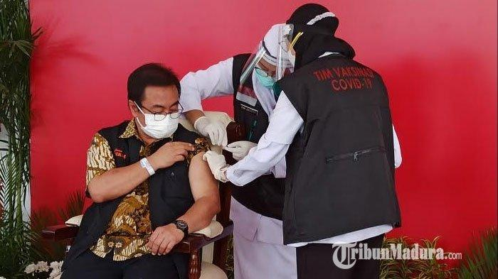 Efek Vaksin Sinovac: Ketua Tim Kuratif Satgas Covid-19 Jatim 'Nyeri', Rasa yang Biasa Jika Disuntik
