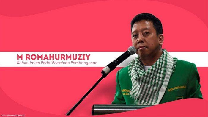 Agus Rahardjo Ketua KPK Pastikan Ketum Partai Persatuan Pembangunan (PPP) Romahurmuziy Kena OTT KPK