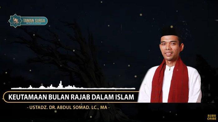 Puasa Rajab Baik Ditunaikan, Tapi Ustaz Abdul Somad Permasalahkan Ini, 'Tak Boleh Khususkan 4 Hal'