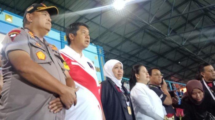 Sempat Susah Masuk Stadion Kanjuruhan, Khofifah & Puan Maharani Histeris Lihat Arema FC Vs Persebaya