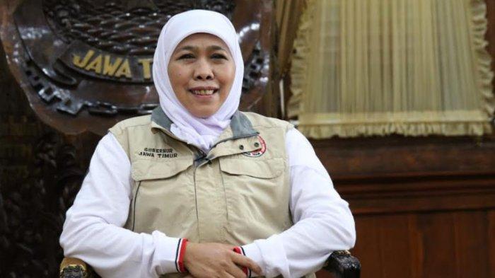 Kabar Baik, 4 Daerah di Jatim Jadi Zona Kuning, Gubernur Khofifah: Mudah-mudahan Terus Membaik