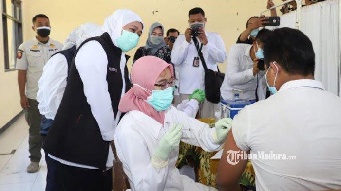 Gubernur Khofifah Pastikan Pembelajaran Tatap Muka Bisa Dilaksanakan Jika Daerah Penuhi Syarat ini