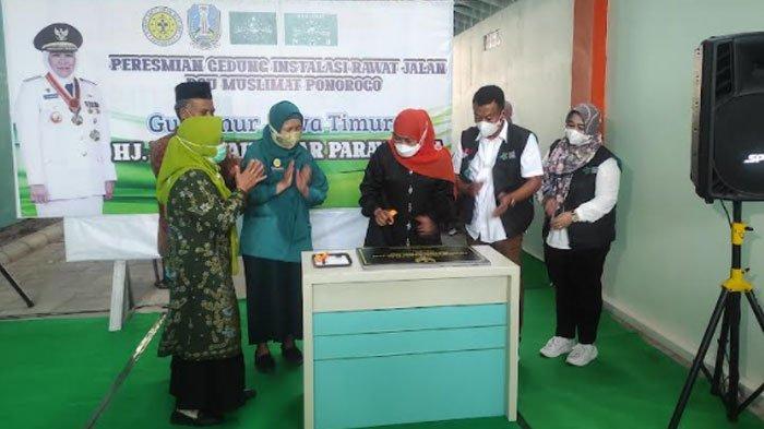 RSU Muslimat Ponorogo Resmi Punya Instalasi Rawat Jalan, Kembangkan Layanan Kesehatan Masyarakat