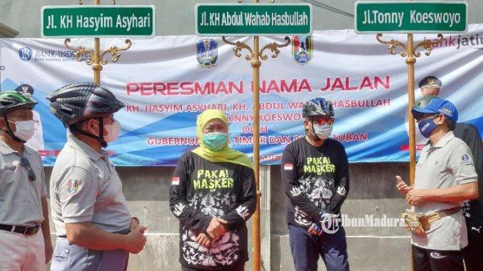 Dua Tokoh Kiai NU Ternama Diresmikan Jadi Nama Jalan Nasional di Tuban, Ada Juga Nama Tonny Koeswoyo
