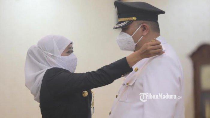 Gubernur Jawa Timur Resmi Lantik Whisnu Sakti Buana sebagai Wali Kota Surabaya Gantikan Risma