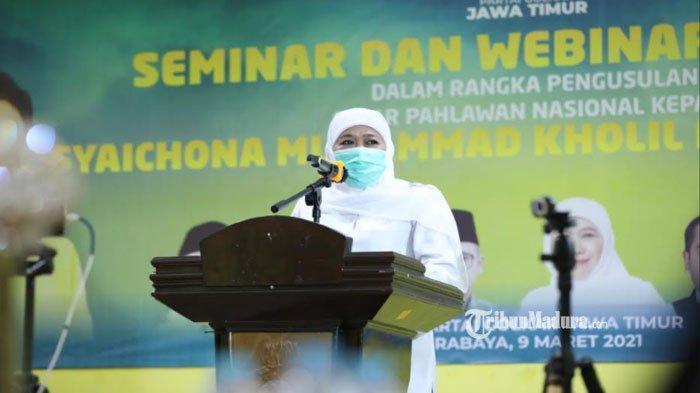Gubernur Jatim TargetkanUsulan Gelar Pahlawan Nasional untuk KH Syaikhona Kholil Rampung November
