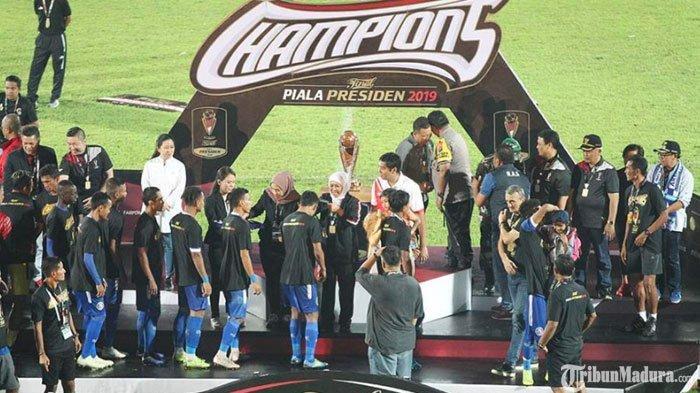 Perjalanan Arema FC hingga Juara Piala Presiden 2019, Pernah Tergelincir pada Laga Derby Jatim