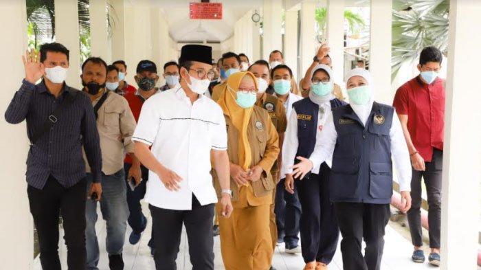 Gubernur Khofifah Dorong Penyuntikan Vaksin Covid-19 Dosis Kedua di Bangkalan Dilakukan Pekan ini