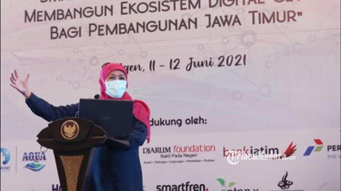 Rakerwil AMSI Jatim 2021, Gubernur Jatim Paparkan Jurus Transformasi Digital dalam Genjot Investasi