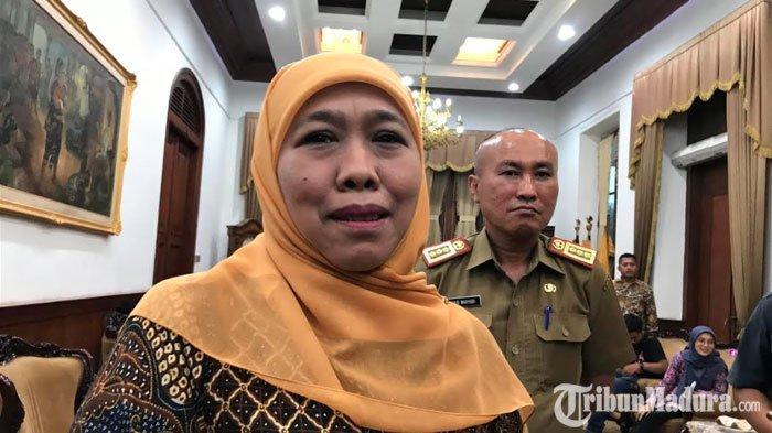 GubernurKhofifah Indar Parawansa Bantah Kota Malang Lockdown, Pastikan Hal sama di Jawa Timur