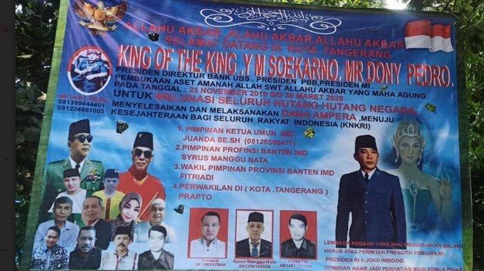 Setiap Warga Akan Diberi Uang Rp 3 M Cuma-cuma, Raja King of The King Siap Melunasi Hutang Indonesia