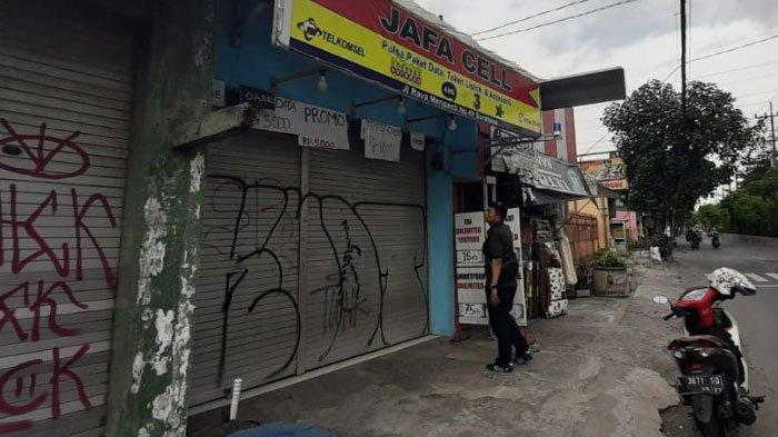 Kios Ponsel di Surabaya Diobok-Obok Komplotan Maling, Uang Rp 21 Juta dan Sejumlah Smartphone Raib