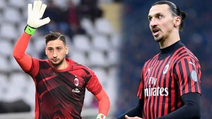 Kepergian Gianluigi Donnarumma dari AC Milan Disayangkan Ibrahimovic, Singgung Nama Maldini