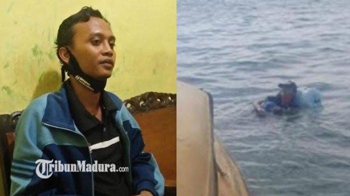 VIRAL Pemuda Nekat Berenang Arungi Lautan Hanya Menggunakan Galon, Kini Sudah Pulang, Simak Kisahnya