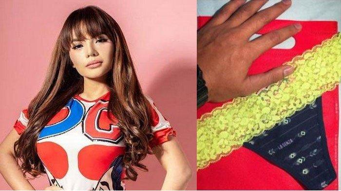 Bocor Permintaan Pembeli Celana Dalam Bekas Dinar Candy, Sempat Dipakai Dinar Tidur sebelum Dikirim