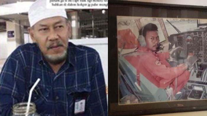 Kolase foto Captain Afwan, pilot Sriwijaya Air SJ 182 semasa hidup.