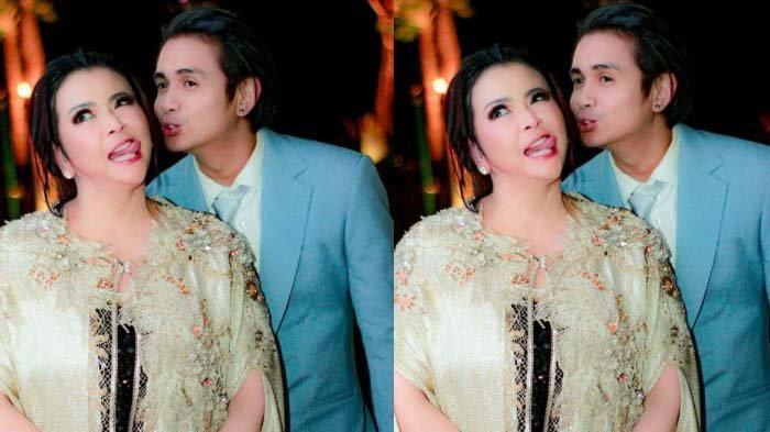Kolase foto Jennifer Jill dan suaminya, Ajun Perwira.
