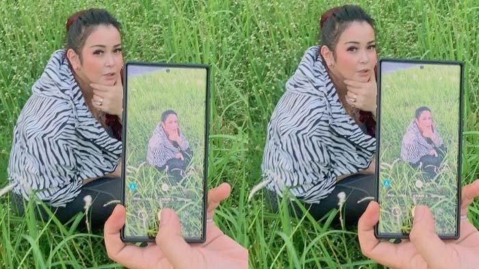 Kolase foto Jennifer Jill, istri Ajun Perwira yang ditetapkan jadi tersangka.