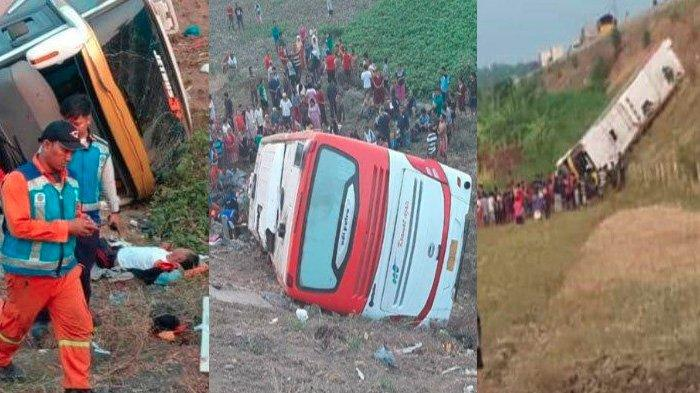BREAKING NEWS - Sopir Bus Kramat Djati Pemicu Kecelakaan Maut di Tol Sumo Ditetapkan jadi Tersangka