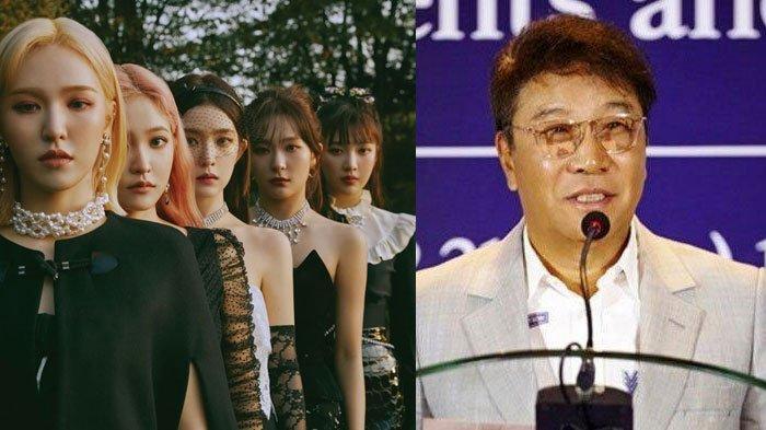 Pesan Tak Terduga Pendiri SM Entertainment untuk Red Velvet, Isinya Sampai Bikin Member RV Terharu
