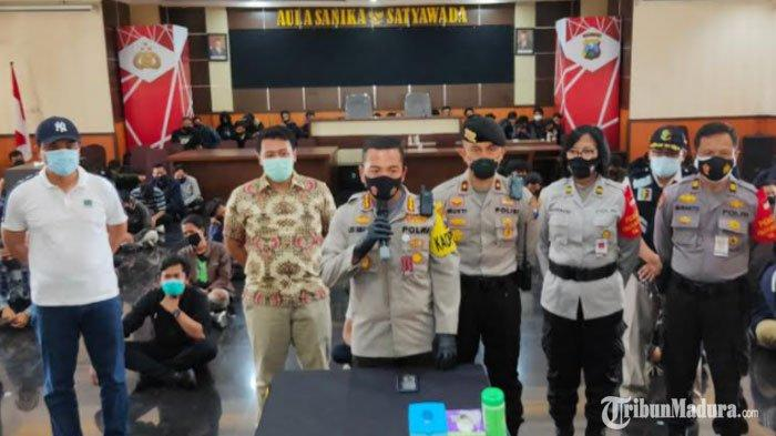 Polresta Malang Kota Amankan 129 Massa Demo Tolak UU Cipta Kerja, 20 di Antaranya Reaktif Rapid Test