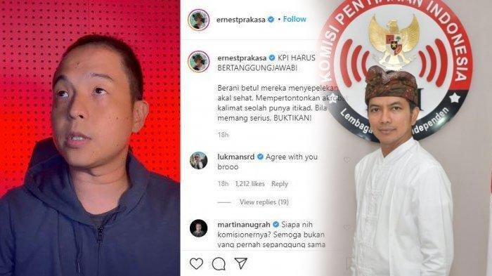 Nomor Ketua KPI Diblokir Ernest Prakasa, Buntut Kasus Pelecehan di KPI, Simak Alasannya
