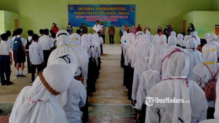 Pra Kompetisi Sains Nasional di Pamekasan Diikuti 335 Peserta, Juara Tiap Mapel Dikirim ke Nasional