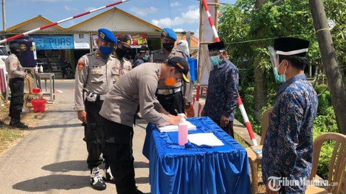 Kampung Tangguh di Tangangser Daya Pamekasan Diresmikan, Diharap Percepat Putus Penyebaran Covid-19