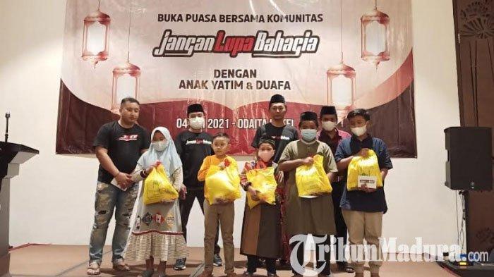 Komunitas JLB Berbagi Berkah Ramadan 2021, Berikan Bantuan Paket Sembako dan Santuni 50 Anak Yatim