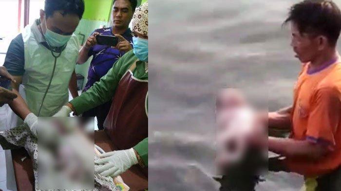 BREAKING NEWS - Ditemukan Mayat Bayi Perempuan di Pulau Mandangin Sampang, Mengapung di Pinggir Laut