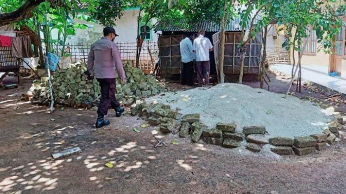 Inilah Kisah Haniya, Janda Tua yang Hanya Dapat Bantuan RTLH Berupa Batu & Pasir dari Pemkab Sumenep