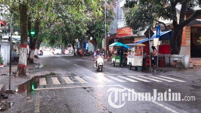 Rekayasa Lalu LintasJalan ke Alun-alun Kota Blitar, Sterilisasi Kendaraan Mulai Pukul16.30 WIB