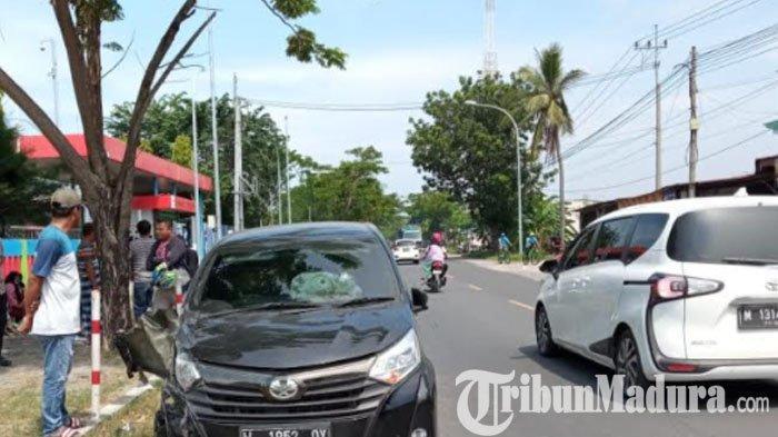 Terjadi Kecelakaan Beruntun di Sampang, Kerugian Mencapai Jutaan Rupiah, Tak Ada Korban Jiwa