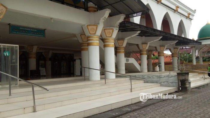 Masjid Agung Sampang Dibuka untuk Salat Tarawih dan Idul Fitri, Ada Ketentuan Khusus Bagi Jemaah