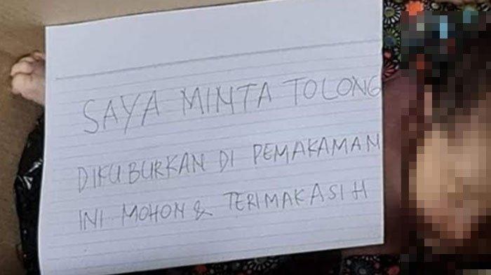 Kardus Berisi Mayat Bayi Ditemukan di Depan Rumah Warga di Malang, Ada Kertas Berisi Pesan: Tolong